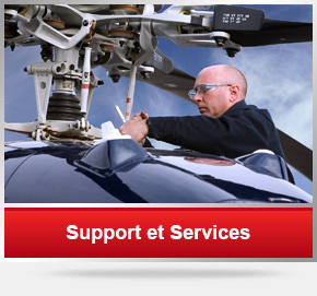 Support et services Helideal